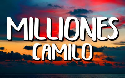 """Camilo estrenó """"Millones"""" y le dejó un mensaje a Evaluna"""