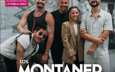 El clan Montaner en pleno ofrecerá un concierto vía streaming
